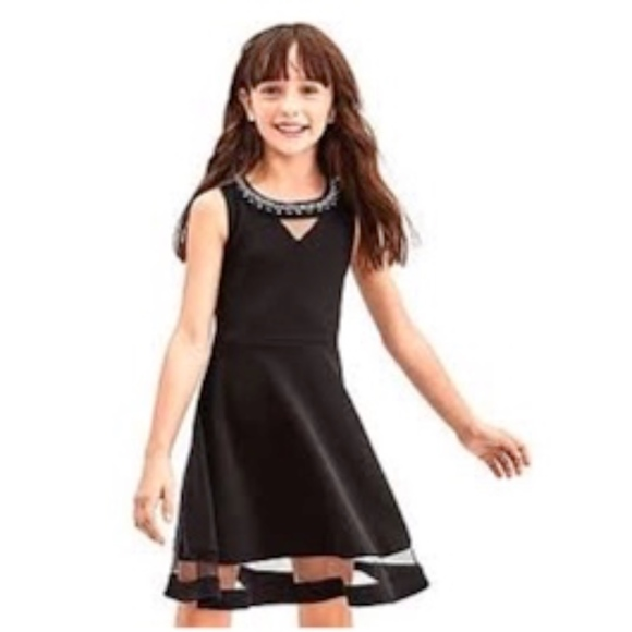 The Children's Place Other - The Children's Place black party dress with jewels